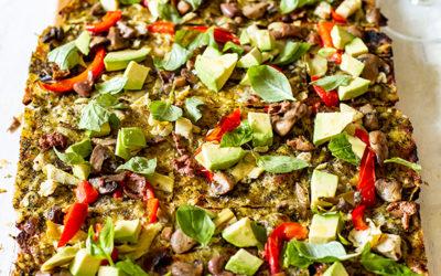 Constantia Glen goes green with delicious Vegan Flammkuchen