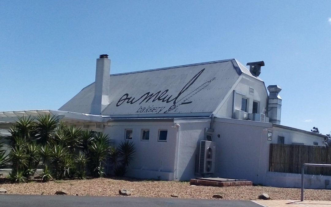 Out and about- breakfast at Die Ou Meul Bakkery Melkbos