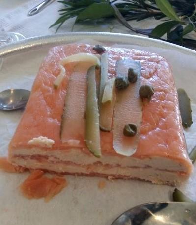 A take on Mary Berry's fabulous smoked salmon terrine