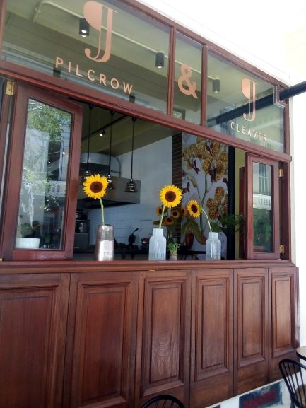 Out and about at Pilcrow and Cleaver in the City