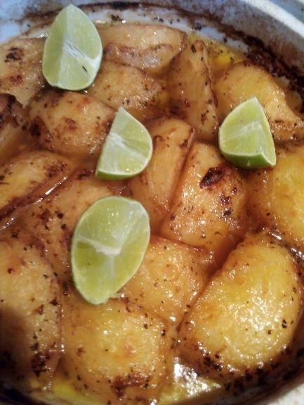 Delicious Greek Lemon Potatoes at Greg's Table